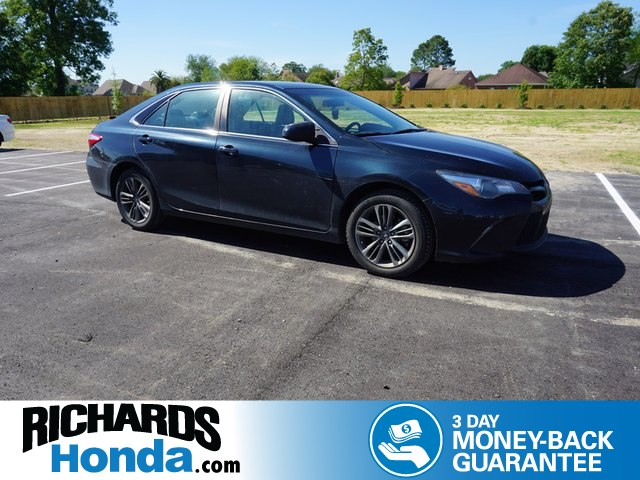 Pre Owned 2016 Toyota Camry Se Sedan In Baton Rouge 2p9419a Richards Honda