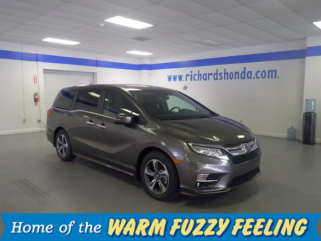 New 2018 Honda Odyssey Touring Minivan In Baton Rouge
