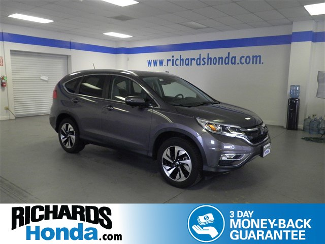 Pre Owned 2015 Honda CR V Touring