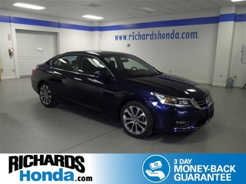 Pre-Owned 2015 Honda Accord Sport