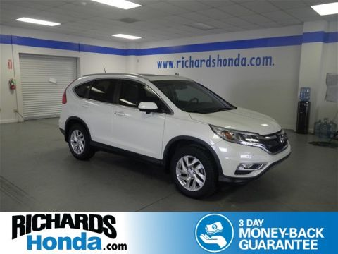 Pre-Owned 2015 Honda CR-V EX-L w/ Navigation